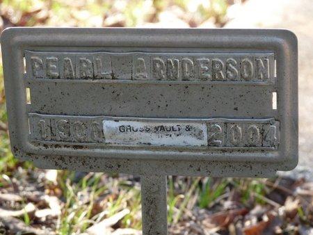 LAMMON ANDERSON, PEARL - Wakulla County, Florida | PEARL LAMMON ANDERSON - Florida Gravestone Photos