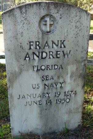 ANDREW (VETERAN), FRANK (NEW) - Wakulla County, Florida | FRANK (NEW) ANDREW (VETERAN) - Florida Gravestone Photos