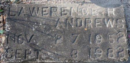 ANDREWS, LAWRENCE R - Wakulla County, Florida | LAWRENCE R ANDREWS - Florida Gravestone Photos