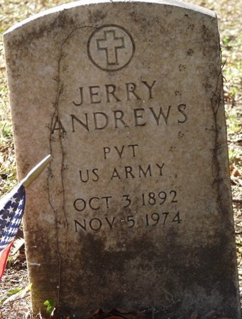 ANDREWS (VETERAN), JERRY (NEW) - Wakulla County, Florida   JERRY (NEW) ANDREWS (VETERAN) - Florida Gravestone Photos