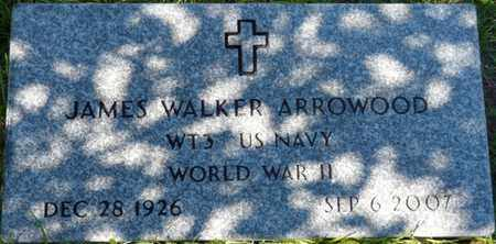 ARROWOOD (VETERAN WWII), JAMES WALKER (NEW) - Wakulla County, Florida | JAMES WALKER (NEW) ARROWOOD (VETERAN WWII) - Florida Gravestone Photos