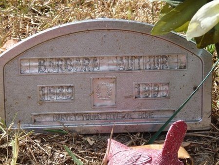 ARTHUR, BARBARA JANET - Wakulla County, Florida | BARBARA JANET ARTHUR - Florida Gravestone Photos