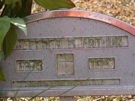 ARTHUR, JEFFREY M - Wakulla County, Florida   JEFFREY M ARTHUR - Florida Gravestone Photos