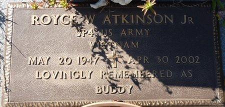 "ATKINSON JR. (VETERAN VIET), ROYCE WILLIAM ""BUDDY"" (NEW) - Wakulla County, Florida   ROYCE WILLIAM ""BUDDY"" (NEW) ATKINSON JR. (VETERAN VIET) - Florida Gravestone Photos"