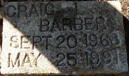 BARBER, CRAIG L - Wakulla County, Florida | CRAIG L BARBER - Florida Gravestone Photos