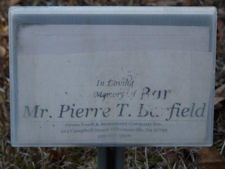 "BARFIELD, PIERRE TREVOY ""PEDE"" - Wakulla County, Florida | PIERRE TREVOY ""PEDE"" BARFIELD - Florida Gravestone Photos"