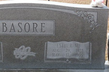 BASORE, ESTHER M - Wakulla County, Florida   ESTHER M BASORE - Florida Gravestone Photos