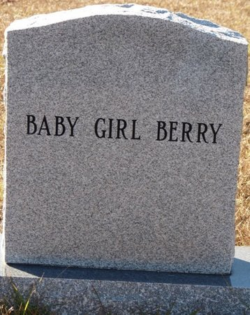 BERRY, INFANT DAUGHTER - Wakulla County, Florida | INFANT DAUGHTER BERRY - Florida Gravestone Photos