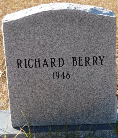 BERRY, RICHARD - Wakulla County, Florida | RICHARD BERRY - Florida Gravestone Photos