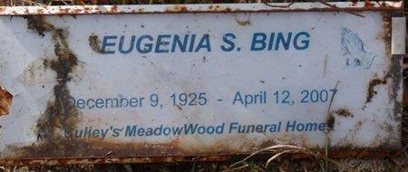 SUTTON BING, EUGENIA RITA - Wakulla County, Florida | EUGENIA RITA SUTTON BING - Florida Gravestone Photos