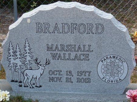 BRADFORD, MARSHALL WALLACE - Wakulla County, Florida | MARSHALL WALLACE BRADFORD - Florida Gravestone Photos