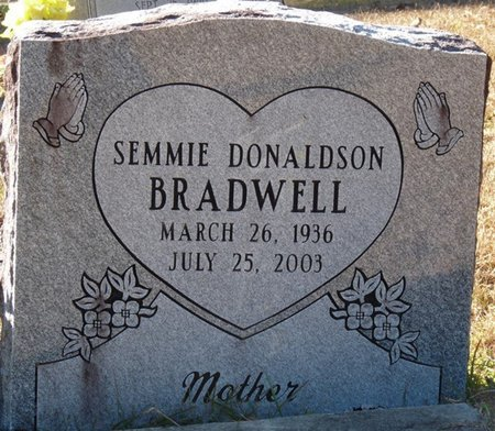 BRADWELL, SEMMIE - Wakulla County, Florida   SEMMIE BRADWELL - Florida Gravestone Photos