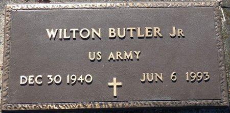 BUTLER JR. (VETERAN), WILTON (NEW) - Wakulla County, Florida   WILTON (NEW) BUTLER JR. (VETERAN) - Florida Gravestone Photos