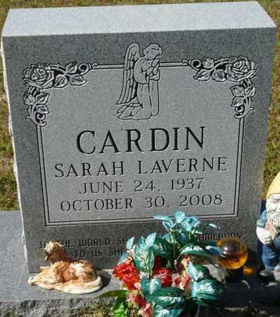 CARDIN, SARAH LAVERNE - Wakulla County, Florida | SARAH LAVERNE CARDIN - Florida Gravestone Photos