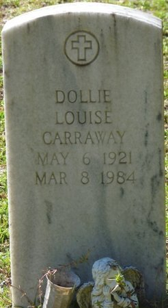CARRAWAY, DOLLIE LOUISE - Wakulla County, Florida | DOLLIE LOUISE CARRAWAY - Florida Gravestone Photos