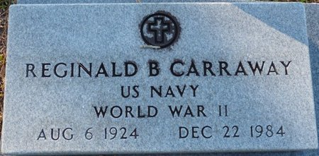 CARRAWAY (VETERAN WWII), REGINALD B (NEW) - Wakulla County, Florida | REGINALD B (NEW) CARRAWAY (VETERAN WWII) - Florida Gravestone Photos