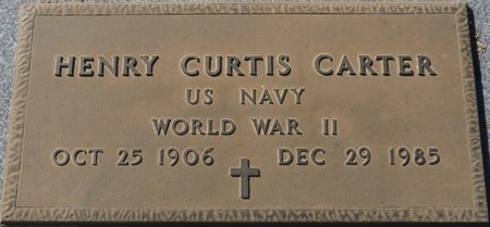 CARTER (VETERAN WWII), HENRY CURTIS (NEW) - Wakulla County, Florida | HENRY CURTIS (NEW) CARTER (VETERAN WWII) - Florida Gravestone Photos