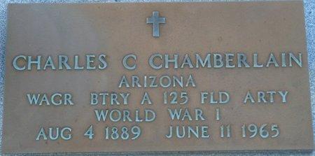 CHAMBERLAIN (VETERAN WWI), CHARLES CLINTON (NEW) - Wakulla County, Florida   CHARLES CLINTON (NEW) CHAMBERLAIN (VETERAN WWI) - Florida Gravestone Photos