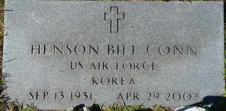 CONN (VETERAN KOR), HENSON BILL (NEW) - Wakulla County, Florida | HENSON BILL (NEW) CONN (VETERAN KOR) - Florida Gravestone Photos
