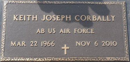 CORBALLY (VETERAN), KEITH JOSEPH (NEW) - Wakulla County, Florida | KEITH JOSEPH (NEW) CORBALLY (VETERAN) - Florida Gravestone Photos