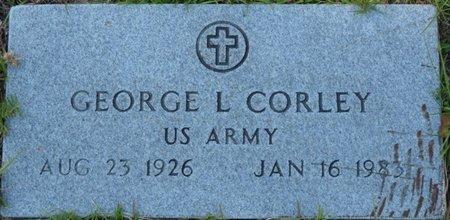 CORLEY (VETERAN), GEORGE LEON (NEW) - Wakulla County, Florida | GEORGE LEON (NEW) CORLEY (VETERAN) - Florida Gravestone Photos