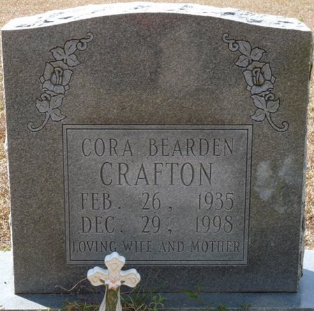 BEARDEN CRAFTON, CORA LEE - Wakulla County, Florida | CORA LEE BEARDEN CRAFTON - Florida Gravestone Photos