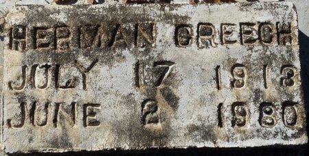 CREECH, HERMAN - Wakulla County, Florida   HERMAN CREECH - Florida Gravestone Photos