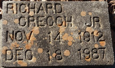 CREECH JR., RICHARD A - Wakulla County, Florida   RICHARD A CREECH JR. - Florida Gravestone Photos