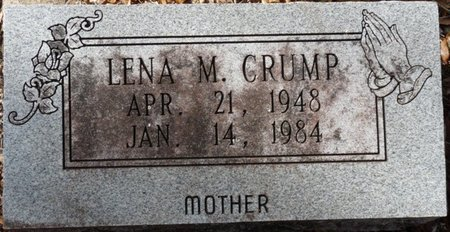 CRUMP, LENA M - Wakulla County, Florida | LENA M CRUMP - Florida Gravestone Photos