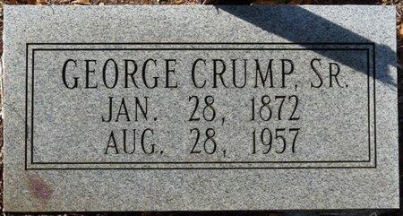CRUMP SR., GEORGE - Wakulla County, Florida   GEORGE CRUMP SR. - Florida Gravestone Photos