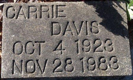 DAVIS, CARRIE - Wakulla County, Florida | CARRIE DAVIS - Florida Gravestone Photos