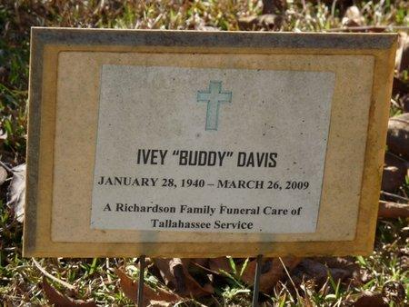 "DAVIS, IVEY ""BUDDY"" - Wakulla County, Florida | IVEY ""BUDDY"" DAVIS - Florida Gravestone Photos"
