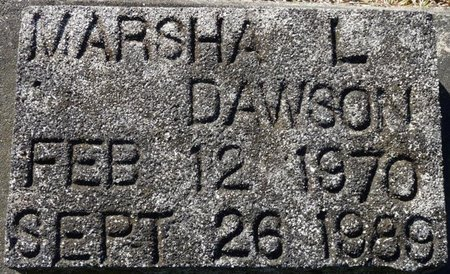 DAWSON, MARSHA L - Wakulla County, Florida   MARSHA L DAWSON - Florida Gravestone Photos