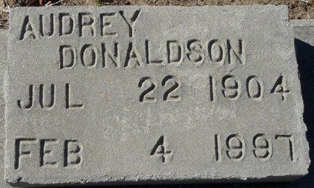 DONALDSON, AUDREY - Wakulla County, Florida | AUDREY DONALDSON - Florida Gravestone Photos