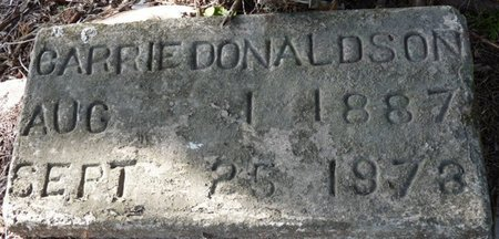 DONALDSON, CARRIE - Wakulla County, Florida | CARRIE DONALDSON - Florida Gravestone Photos