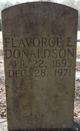 DONALDSON, FLAVORCE E - Wakulla County, Florida | FLAVORCE E DONALDSON - Florida Gravestone Photos