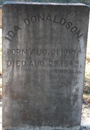DONALDSON, IDA - Wakulla County, Florida | IDA DONALDSON - Florida Gravestone Photos