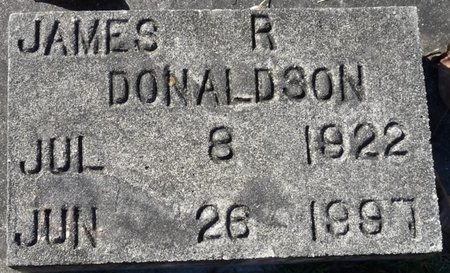 DONALDSON, JAMES R - Wakulla County, Florida | JAMES R DONALDSON - Florida Gravestone Photos
