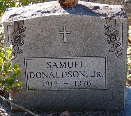 DONALDSON JR., SAMUEL - Wakulla County, Florida | SAMUEL DONALDSON JR. - Florida Gravestone Photos