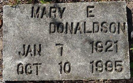 DONALDSON, MARY E - Wakulla County, Florida | MARY E DONALDSON - Florida Gravestone Photos