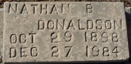 DONALDSON, NATHAN B - Wakulla County, Florida   NATHAN B DONALDSON - Florida Gravestone Photos