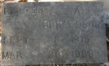 DONALDSON, PERCELL - Wakulla County, Florida   PERCELL DONALDSON - Florida Gravestone Photos