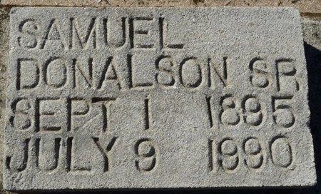 DONALDSON SR., SAMUEL - Wakulla County, Florida   SAMUEL DONALDSON SR. - Florida Gravestone Photos
