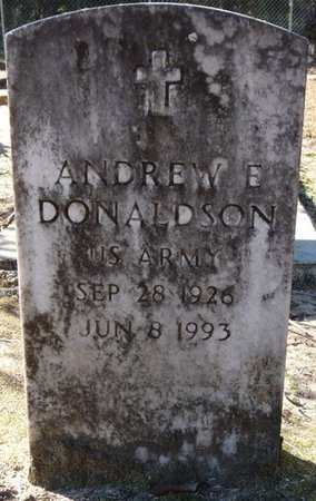 DONALDSON (VETERAN), ANDREW E (NEW) - Wakulla County, Florida | ANDREW E (NEW) DONALDSON (VETERAN) - Florida Gravestone Photos