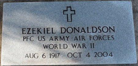 DONALDSON (VETERAN WWII), EZEKIEL (NEW) - Wakulla County, Florida | EZEKIEL (NEW) DONALDSON (VETERAN WWII) - Florida Gravestone Photos