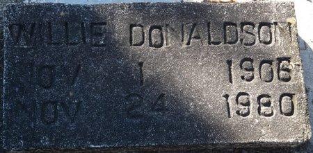 DONALDSON, WILLIE - Wakulla County, Florida | WILLIE DONALDSON - Florida Gravestone Photos
