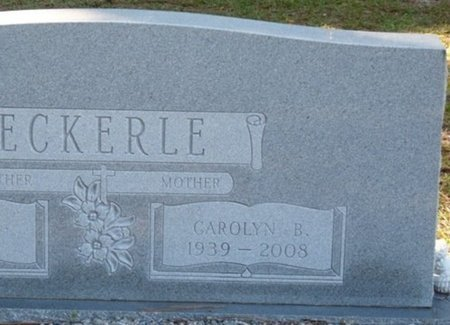 HESTERS ECKERLE, CAROLYN G - Wakulla County, Florida | CAROLYN G HESTERS ECKERLE - Florida Gravestone Photos