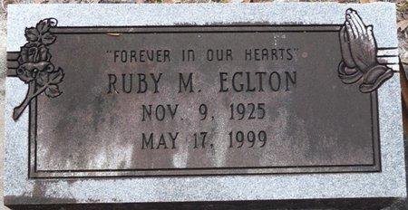 EGLTON, RUBY M - Wakulla County, Florida | RUBY M EGLTON - Florida Gravestone Photos