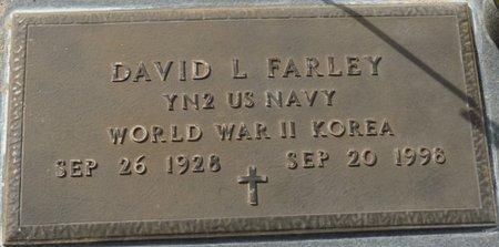 FARLEY (VETERAN WWII KOR), DAVID L (NEW) - Wakulla County, Florida | DAVID L (NEW) FARLEY (VETERAN WWII KOR) - Florida Gravestone Photos