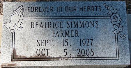 SIMMONS FARMER, BEATRICE - Wakulla County, Florida | BEATRICE SIMMONS FARMER - Florida Gravestone Photos